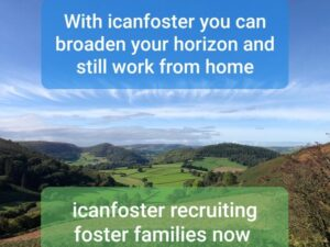 Continue working from home fostering children with I Can Foster