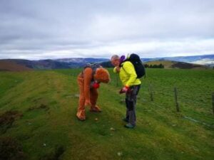 Fostering Manager completing his 8 Peaks Challenge